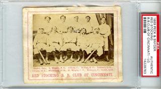 1869 Cincinnati Red Stockings