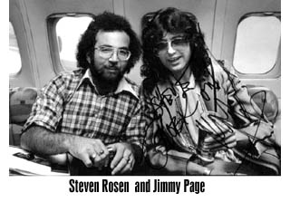 Jimmy Page and Steven Rosen