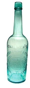 Chalmer's Catawba wine bitters bottle