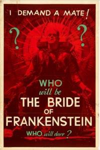 Bride of frankenstein Teaser Poster