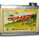 Manhattan Artic Auto Oil Can