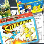 Superman Lunchbox, Krazy Cat and rare Dickson pistols