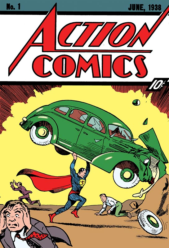 The Most Valuable Comic Book of All Time – Action Comics #1