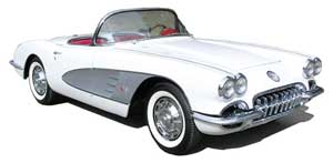 1959 Corvette Featured at March 16 Sale