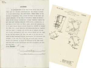 Albert Einstein patent assignment document