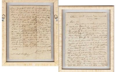 Davy Crockett Letter and More