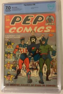 Pep Comics 36 - First Appearance of Archie