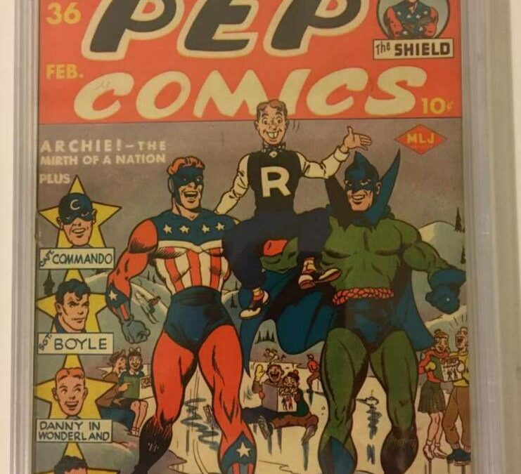 First Appearance of Archie in Pep Comics